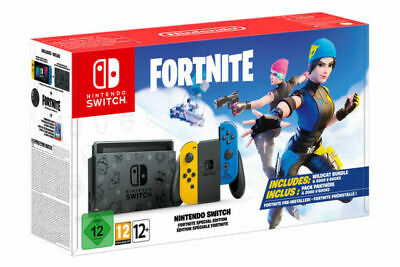 $475 • Buy *NEW* SEALED Nintendo Switch Fortnite Wildcat Console Bundle With Code RARE NEW!