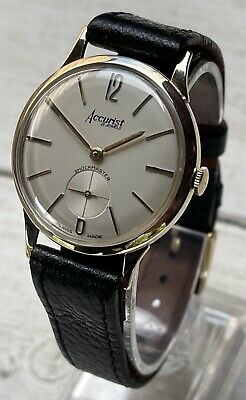 £345 • Buy Stunning Accurist Mens 9ct Solid Gold Watch Excellent Condition! 1963