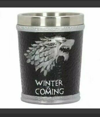 £12.99 • Buy Winter Is Coming Shot Glass Game Of Thrones New