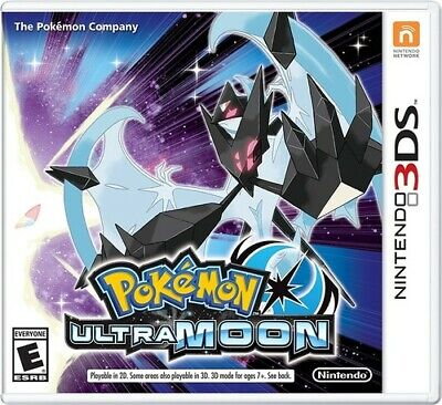 $39.99 • Buy Authentic Pokemon Ultra Moon (Nintendo 3DS) XL 2DS Game W/Case & Insert
