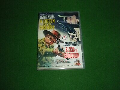 £24 • Buy A Coffin For The Sheriff / Blood At Sundown Wild East Oop Spaghetti Westerns