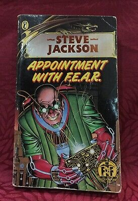 AU28 • Buy Steve Jackson's Appointment With F.E.A.R. (1985)