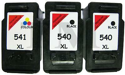 £14.95 • Buy PG540XL Black CL541XL Colour Remanufactured Ink Cartridge For Canon Printers