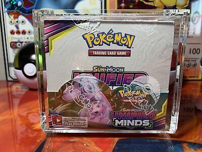 $425 • Buy Pokemon Sun & Moon - Unified Minds Sealed Booster Box (36 Packs Of Cards) W/case