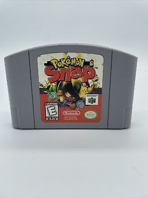 $21 • Buy Pokemon Snap (64, 1999) N64 Game Authentic Cart Only