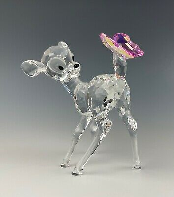 £261.46 • Buy Swarovski Disney Bambi With Butterfly Crystal Mint Condition!!