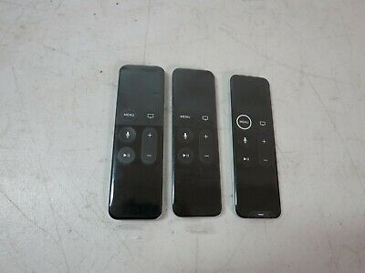 AU137.32 • Buy Lot Of 3 New Apple TV Remote Control Lot A1513 A1962 Free U.S. Shipping