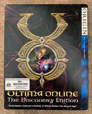 AU69.95 • Buy ULTIMA ONLINE Discovery Edition Big Box PC CD Game + Manuals AUS ONLY +Bonus