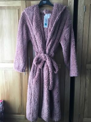 AU27.36 • Buy Ladies Long Length Dressing Gown, Size Medium, From M&S. New With Tags.