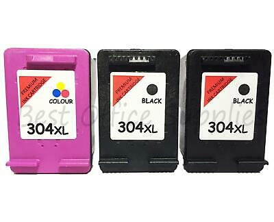 £14.95 • Buy 304XL Black And Colour Remanufactured Ink Cartridge For HP Printers