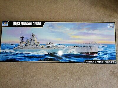 £240 • Buy Trumpeter 1/200 HMS Nelson 1944