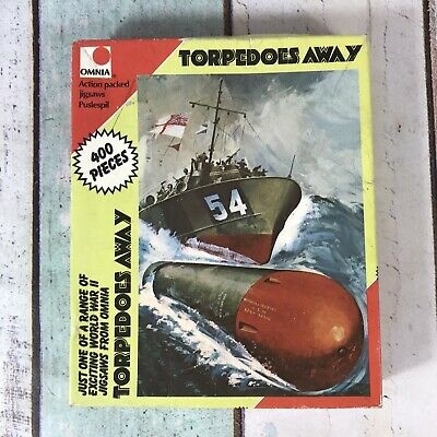 £3.99 • Buy Torpedoes Away Jigsaw Puzzle 400 Pieces Omnia World War 2 Action - Unchecked