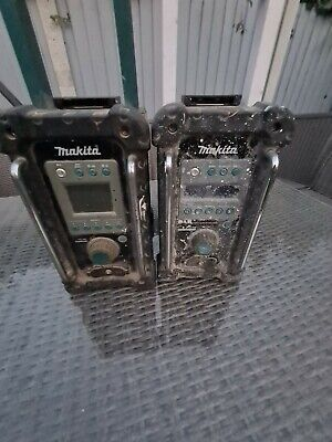 £50 • Buy 2 X MAKITA SITE RADIOS FOR SPARES OR REPAIR/UNTESTED
