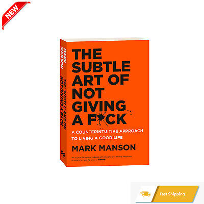 AU24.79 • Buy BRAND NEW The Subtle Art Of Not Giving A Fck F*ck F * Ck Fuck FAST FREE SHIPPING