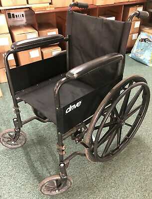 £25 • Buy Invacare Drive Wheelchair For Spares Or Repairs (No Foot Rests)