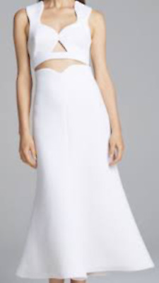 AU120 • Buy ALICE McCALL White 'Smile Because Skirt' - Size 12 (like New) - RRP $300