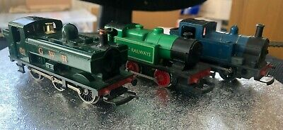 £12.95 • Buy 3 Hornby OO Pannier Tank Steam Locomotives / Engines For Spares Or Repairs