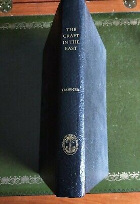 £20 • Buy Masonic Book 'The Craft In The East' 1977 Christopher Haffner