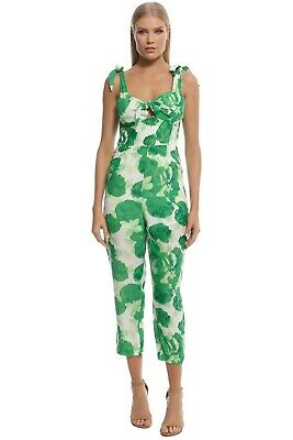 AU109 • Buy Pre Loved Alice McCall Betty Baby Jumpsuit In Fern Size 14