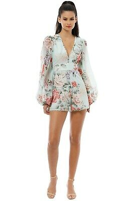 AU89 • Buy Pre Loved Alice McCall One By One Playsuit Size 8