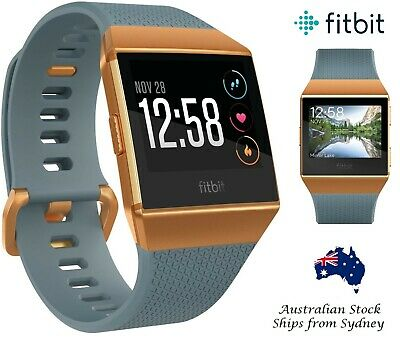 AU249.95 • Buy New Fitbit Ionic Smart Watch Fitness Activity Tracker GPS Tracking HR Monitor