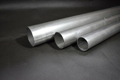 £7.99 • Buy 1.5  - 4  Mild Steel Round Tube Pipe Exhaust Repair All Lengths Available