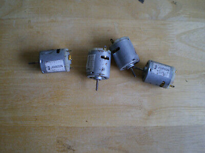 £8.99 • Buy X4 JOHNSON BRUSHED RE-360 MOTORS 6-12v FOR MODEL BOATS AND OTHER PROJECTS