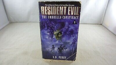 AU9.25 • Buy Resident Evil: The Umbrella Conspiracy 1 - S.D. Perry (PB, 1998, 8th Print)