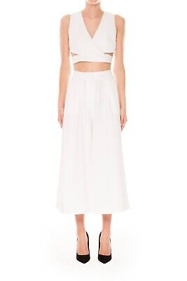 AU25 • Buy Finders Keepers New Line White Culotte Pant   Size L (12)