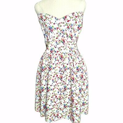 AU25 • Buy Asos Curve Size 20 Strapless Sweetheart Fit And Flare Party Dress Weddings