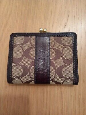 £5 • Buy Coach Purse Wallet/ Coin Section. In Good Condition.