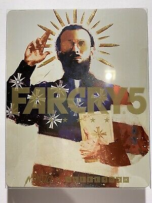 AU79 • Buy Far Cry 5 Steelbook And Xbox One Game Ubisoft Collector's Factory Sealed