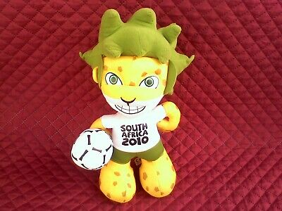£10 • Buy Football World Cup 2010 Mascot South Africa .