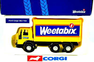£19.99 • Buy Corgi 59603 FORD CARGO 3Axle Delivery BOX Truck In WEETABIX Livery Promotion MIB
