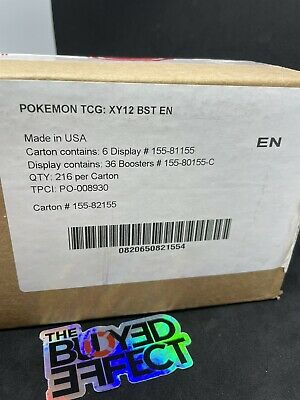 $2000 • Buy Pokemon XY Evolutions Booster Box Case 6 Booster Boxes Factory Sealed No Reserve