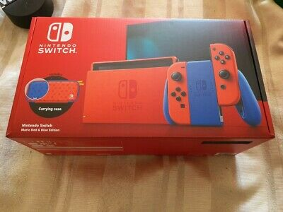 AU550 • Buy Nintendo Switch Mario Red Blue Edition Console