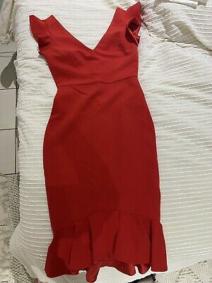 AU60 • Buy Forever New Red Dress Size 6