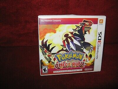 $12.95 • Buy Nintendo 3DS Pokemon Omega Ruby Case And Insert Only No Game