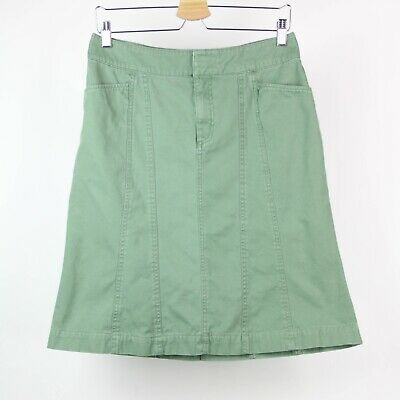 £10.87 • Buy Fresh Produce Skirt A-Line Chino Cotton Size Small Green Y4