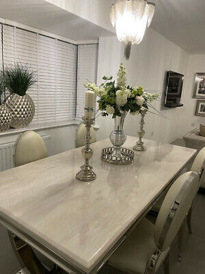 £950 • Buy Marble Dining Table And 4 Chairs