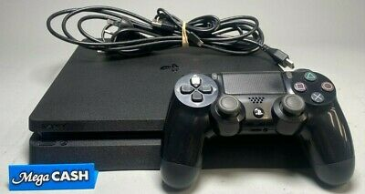 AU259 • Buy Sony Playstation 4 Ps4 Slim - Cuh-2102b -1tb - Jet Back - W/ Controller & Cables