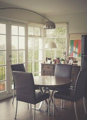 AU320 • Buy Set Of Walter Knoll Dining Chairs Modern Mid-century Contemporary Eames Design