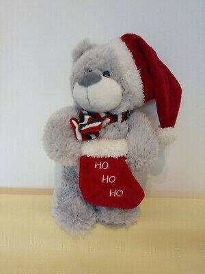 £3.99 • Buy Grey Teddy Bear Soft Toy FromThe Cuddles Collection. 12  High To Top Of Head