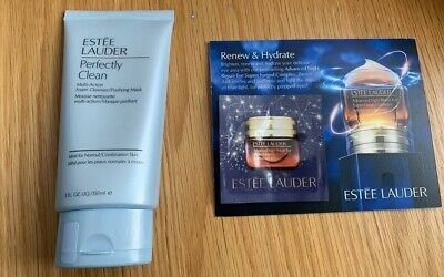 £16 • Buy Estee Lauder Perfectly Clean Foam Cleanser, Full Size, 150ml (With Some Samples)