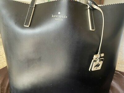 AU140 • Buy Kate Spade Black Tote Bag, With Cover
