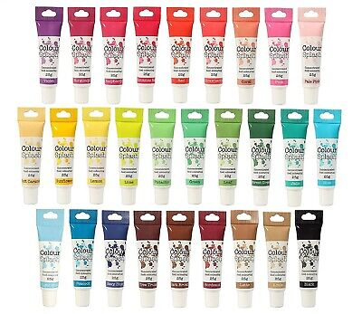 £2.63 • Buy Colour Splash Food Colouring Concentrated Gel Paste Cake Decorating