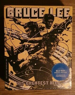£77.99 • Buy Bruce Lee: His Greatest Hits Box Set - Criterion Collection Blu-ray New/Sealed