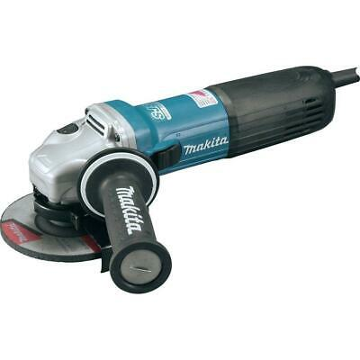 £164.21 • Buy Makita Angle Grinder 12 Amp 5 In High-Power Corded Lock On Switch Variable Speed