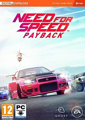 AU23.64 • Buy NFS Need For Speed Payback PC GAME EA Origin BRAND NEW GENUINE