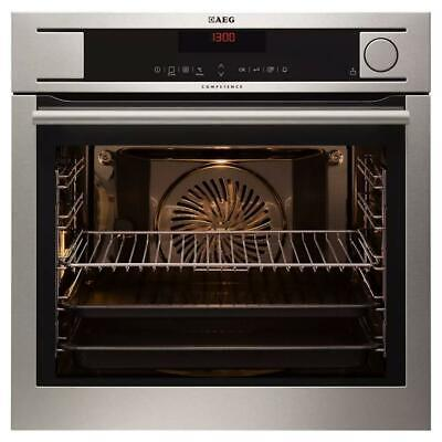 £639.99 • Buy AEG BS831410KM Single Electric Pro Combi Steam Oven Stainless Steel GRADED